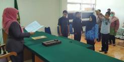 Pengambilan Sumpah Jabatan dan Pelantikan Pegawai Negeri Sipil Golongan II