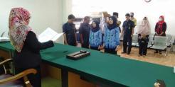 Pengambilan Sumpah Jabatan dan Pelantikan Pegawai Negeri Sipil Golongan III
